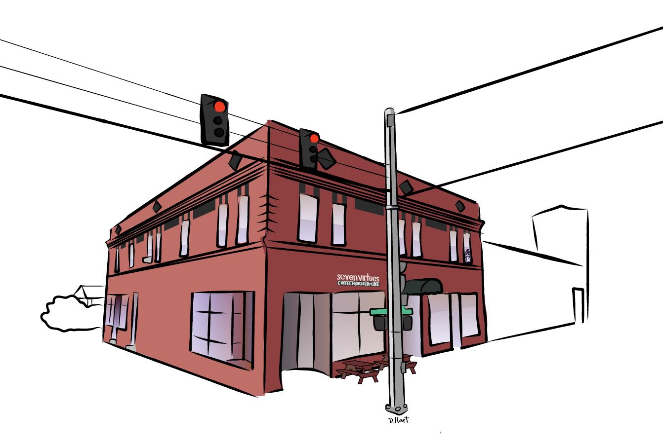 Pieces of portland digital sketches nomadic designs for Digital home designs